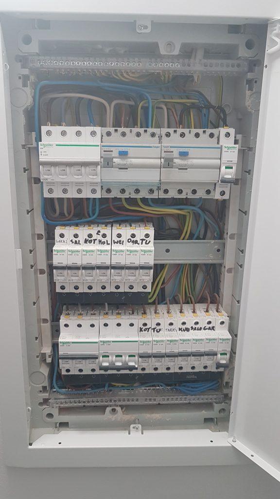 Odbiór instalacji elektrycznej